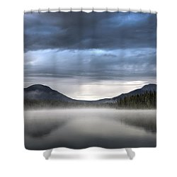 The Moods Of Fish Lake Shower Curtain