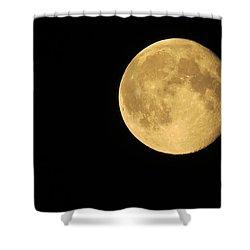 The Moon Shower Curtain