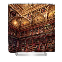 Shower Curtain featuring the photograph The Morgan Library by Jessica Jenney