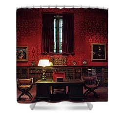 Shower Curtain featuring the photograph The Morgan Library Study by Jessica Jenney