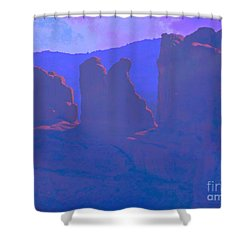 The Morners Shower Curtain by Annie Gibbons
