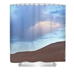 Shower Curtain featuring the photograph The Moroccan Dunes by Yuri Santin