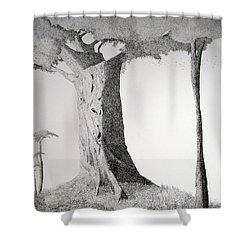 The Mother Lode Shower Curtain by A  Robert Malcom