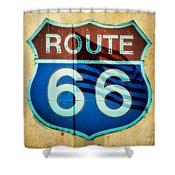 The Mother Road Route 66 Shower Curtain