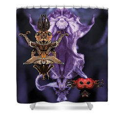 The Mother Shower Curtain by WB Johnston