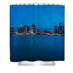 The Motor City  Shower Curtain