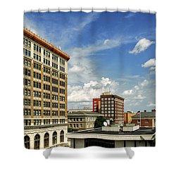 The Murchison Building Shower Curtain