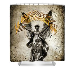 The Muse Shower Curtain by Evelina Kremsdorf