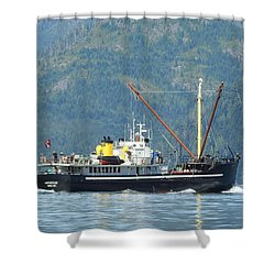 The Mv Uchuck #8 Shower Curtain