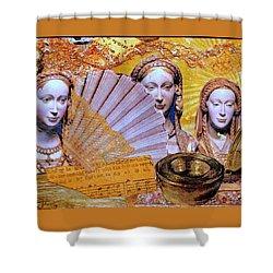 The Mystery Shower Curtain by Gail Kirtz