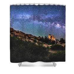 The Mystic Valley Shower Curtain by Robert Loe