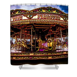 Shower Curtain featuring the photograph The Mystical Dragon Chariot by Chris Lord