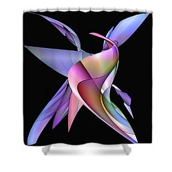 The Napkin Dance Shower Curtain
