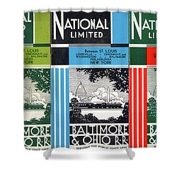The National Limited Collage Shower Curtain