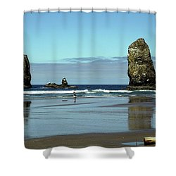 The Needles, Cannon Beach, Or Shower Curtain
