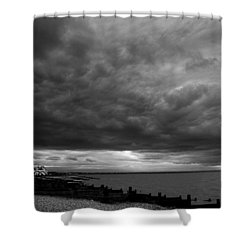 The Neptune Whitstable Shower Curtain by David French