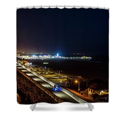 The New California Incline - Night Shower Curtain