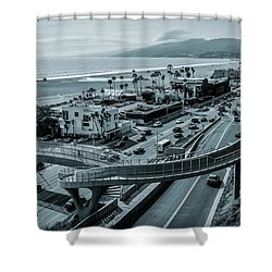 The New P C H Overpass Shower Curtain