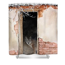 The New Tenent Shower Curtain