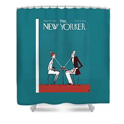 The New Yorker Cover - August 8th, 1925 Shower Curtain