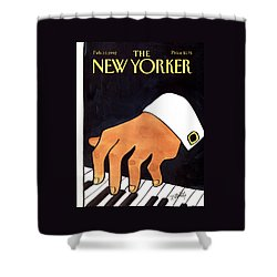 The New Yorker Cover - February 10th, 1992 Shower Curtain