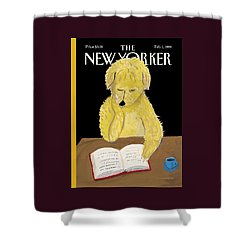 The New Yorker Cover - February 1st, 1999 Shower Curtain