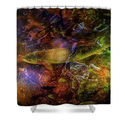 The Next Best Thing Shower Curtain by Rick Furmanek