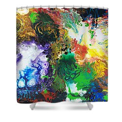 The Next Chapter Shower Curtain by Sally Trace