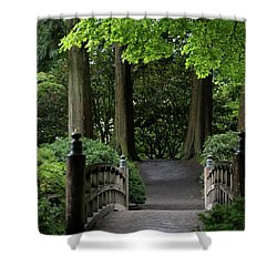 Shower Curtain featuring the photograph The Next Step by Brandy Little