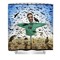 The Nightmare 2 Shower Curtain by Mike McGlothlen