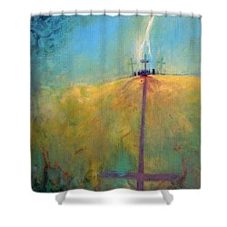 The Ninth Hour Shower Curtain