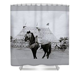 The Noble Man Shower Curtain