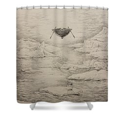 The Non-locals Shower Curtain