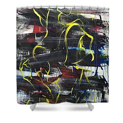 The Noose Shower Curtain by Sheridan Furrer