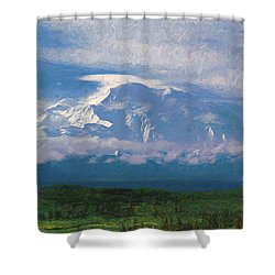 The North Face Shower Curtain
