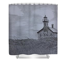 The North  Light  Shower Curtain