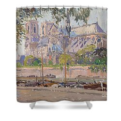 The Notre Dame Cathedral In Paris Painting By Motionage Designs