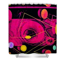 The Nu Solar System Shower Curtain by Tony Adamo