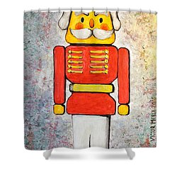 The Nutcracker Shower Curtain