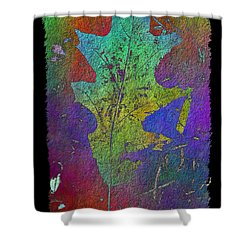 The Oak Leaf Shower Curtain