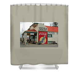 The Oakville Grocery Shower Curtain