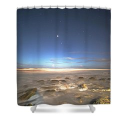 The Ocean Desert Shower Curtain
