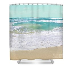 Shower Curtain featuring the photograph The Ocean by Sharon Mau