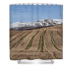 The Ochil Hills In Clackmannanshire Shower Curtain