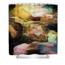 The Odyssey Shower Curtain
