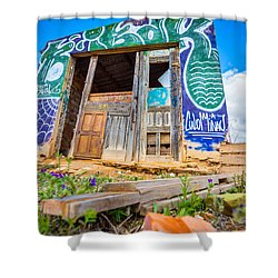 The Old Abode. Shower Curtain