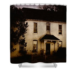The Old And The Beautiful Shower Curtain by Kristie  Bonnewell