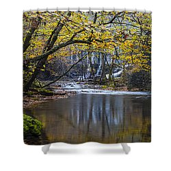 The Old Blanchard Mill Shower Curtain