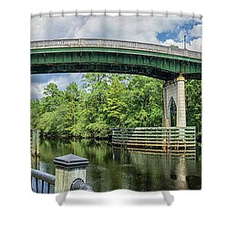 The Old Conway Bridge Shower Curtain