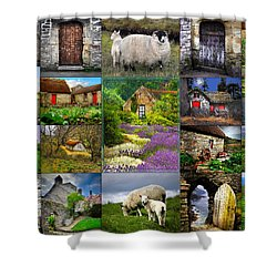 The Old Country Shower Curtain